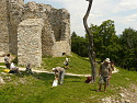 Hrušov, hrad: image 45of 68